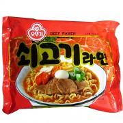 北朝鮮の市場で売られている韓国製の「牛肉ラーメン」(画像提供:オットゥギ食品)