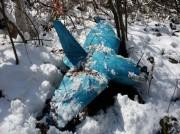 江原道サムチョクで発見された無人機(画像:韓国国防省)