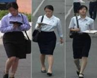 北朝鮮の女子大生