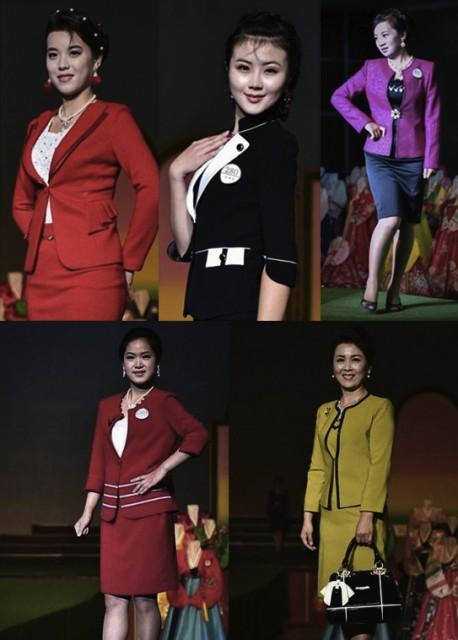 平壌ファッションショー(参考写真)