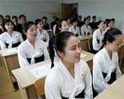 北朝鮮の大学生