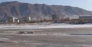 中朝国境の豆満江(資料写真)