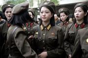朝鮮人民軍の女性兵士