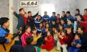 労働新聞は平安北道亀城市で55人の孤児を育てている夫婦を紹介した。(労働新聞)