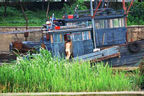 北朝鮮の漁船(本文とは関係ありません)