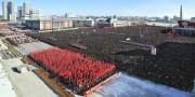 新年の辞貫徹平壌市群衆大会(画像:労働新聞)