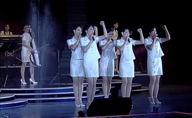 北朝鮮の音楽ユニット「モランボン楽団」