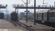 平壌駅のディーゼル機関車(本文とは関係ありません) ©Clay Gilliland