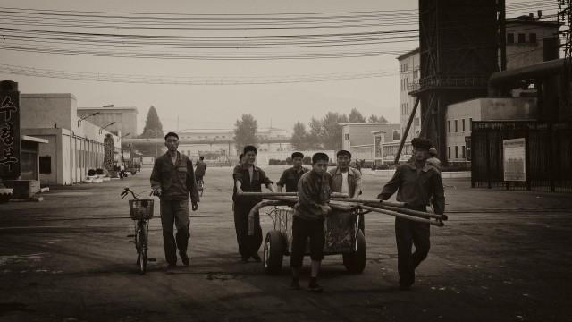 北朝鮮の興南肥料工場 ©Clay Gilliland