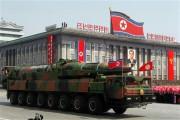 軍事パレードに登場した弾道ミサイルKN-08(資料写真)