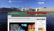 オーストラリア連邦議会公式サイト
