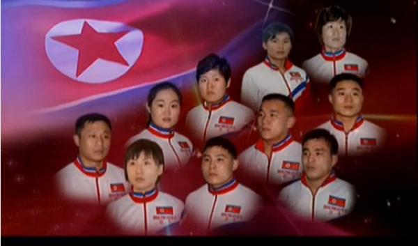 2014年度の北朝鮮最優秀スポーツ選手たち/2015年2月2日わが民族同士より