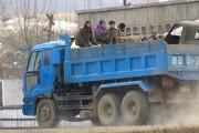 北朝鮮のソビチャ(トラックバス)