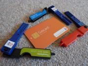 イギリスで使われているガスカードや電気キー。料金を先払いしてメーターに差し込むと使えるようになる。©Lydia