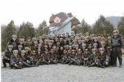 20150303金正恩空軍現地指導記念写真