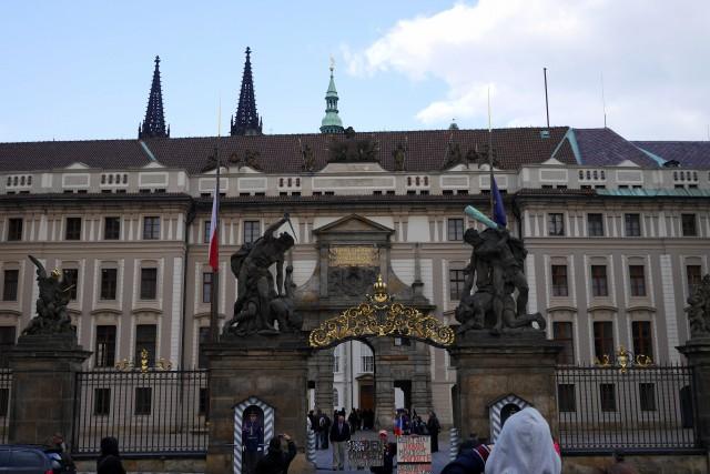 プラハにあるチェコの大統領宮 ©ActiveSteve