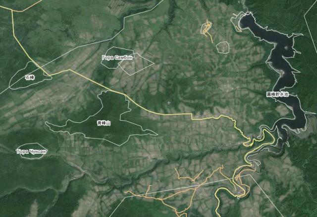 10月18日総合農場の衛星写真 ©Wikimapia