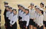 朝鮮人民軍海軍の女性兵士(本文とは関係ありません)