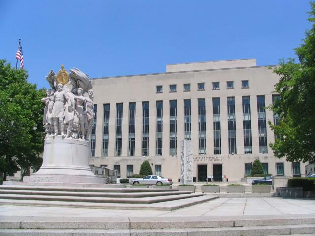 ワシントンの連邦地裁 ©Phyzome