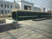 中朝国境の新義州駅