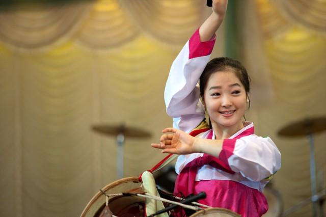 カンボジア・シェムリ・アップの北朝鮮レストランで人気を呼んでいる「キム・ウナ」さん