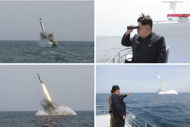 20150509潜水艦ミサイル金正恩03