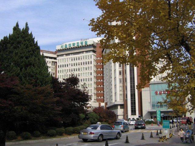 ソウル市内の病院(本文とは関係ありません)(画像:John Milton)
