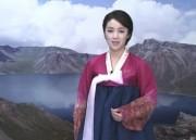 朝鮮中央テレビの女性アナウンサー