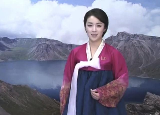 最近、登場回数が多くなってきた朝鮮中央テレビのアナウンサー