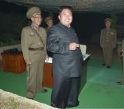 20140728労働新聞金正恩戦略軍ロケット発射訓練