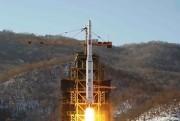 2012年12月12日に発射された長距離弾道ミサイル「銀河3号」