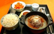 平壌タンコギ店の犬肉料理/朝鮮中央通信