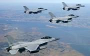 韓国空軍のKF-16戦闘攻撃機/韓国国防省提供