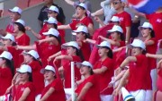 20150718東アジアカップ北朝鮮応援団