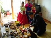 韓国での秋夕の祭壇の様子(画像:Jens-Olaf Walter)