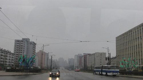 平壌市内の東大院区域(画像:comradeanatolii)