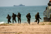 Republic of Korea, Thai, US Marines conduct amphibious assault