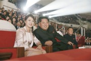 金正恩氏と李雪主夫人(労働新聞)