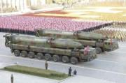 北朝鮮の弾道ミサイルKN-08(2015年10月11日付労働新聞より)