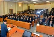 北朝鮮の金日成総合大学で行われた宇宙科学技術討論会