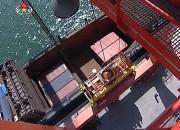 北朝鮮の南浦港に停泊中の貨物船(参考写真)