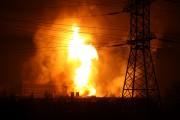 天然ガスパイプラインの爆発(画像:Fiveflower)