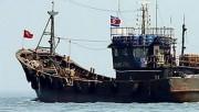 北朝鮮の漁船