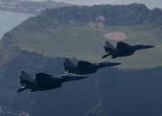 韓国空軍のF-15K戦闘機(参考写真)
