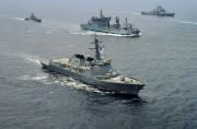韓国海軍のイージス駆逐艦(資料写真)