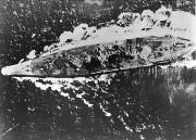 第2次大戦中のレイテ沖海戦での戦艦大和