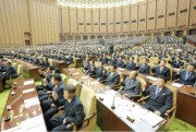 最高人民会議第13期第4回会議(2016年6月30日付労働新聞より)