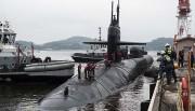 米軍の原子力潜水艦「オハイオ」(米海軍提供)