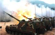 韓国軍のK9自走砲(参考写真)