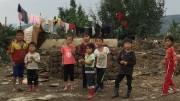 北朝鮮の水害被災地の子どもたち(画像:UNICEF)